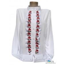 "Женская вышиванка ""Zhako red"""