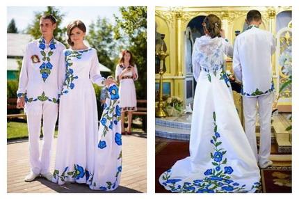Вишиванка на свадьбу 2016